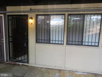 3918 Stonegate          E Drive UNIT E, Suitland, MD 20746 - MLS#: 1001795748