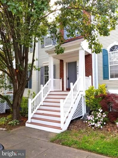 4986 Marshlake Lane, Dumfries, VA 22025 - MLS#: 1001796384
