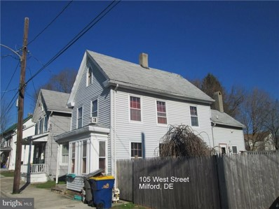105 West Street, Milford, DE 19963 - MLS#: 1001799500