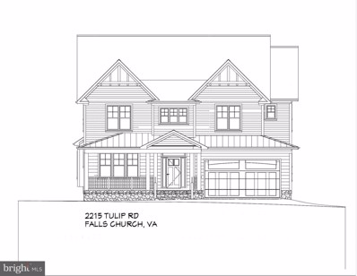 2215 Tulip Drive, Falls Church, VA 22046 - MLS#: 1001803400