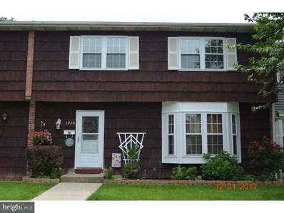 1920 Arrowood Drive UNIT 286, Bensalem, PA 19020 - MLS#: 1001810480