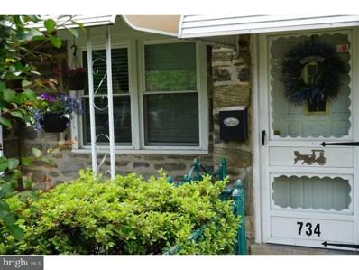 734 Ashland Avenue, Crum-lynne, PA 19022 - MLS#: 1001813840