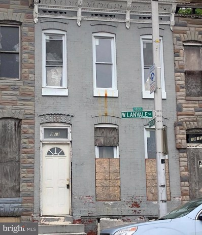 1813 Lanvale Street W, Baltimore, MD 21217 - MLS#: 1001839506