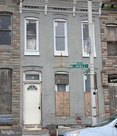 1813 Lanvale Street W, Baltimore, MD 21217 - #: 1001839506