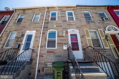 220 Carey Street, Baltimore, MD 21223 - MLS#: 1001854994