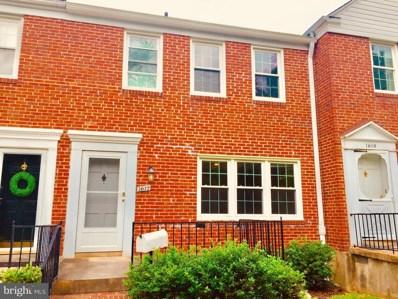 1617 Cottage Lane, Baltimore, MD 21286 - MLS#: 1001861212