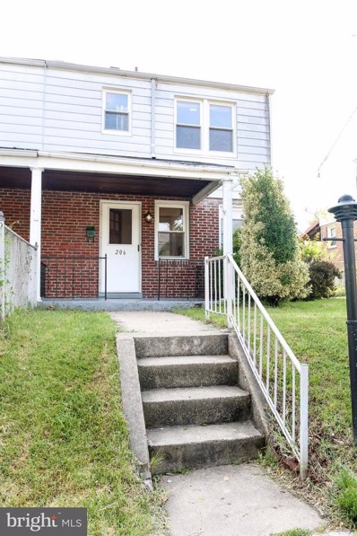 206 Maryland Avenue, Baltimore, MD 21286 - MLS#: 1001898418