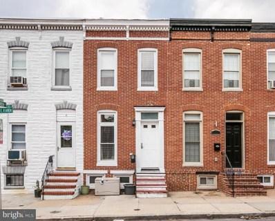 8 Randall Street E, Baltimore, MD 21230 - MLS#: 1001909120