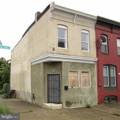 1629 Rutland Avenue, Baltimore, MD 21213 - MLS#: 1001914382
