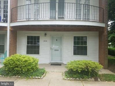 1925 Lyttonsville Road UNIT 1925, Silver Spring, MD 20910 - MLS#: 1001916104