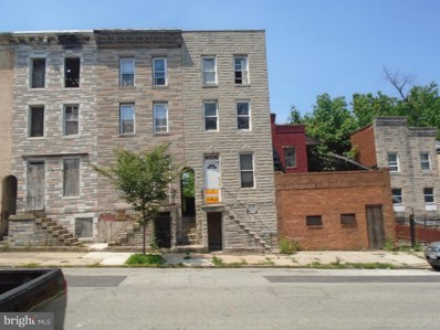 2552 Hollins Street, Baltimore, MD 21223 - MLS#: 1001916708