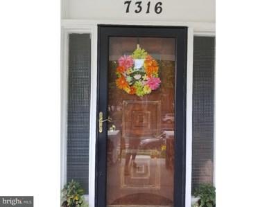 7316 Whitaker Avenue, Philadelphia, PA 19111 - MLS#: 1001918276