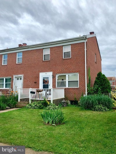 746 Mansfield Road, Baltimore, MD 21221 - MLS#: 1001918458