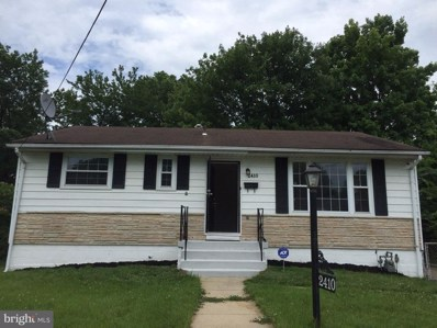 2410 Wintergreen Avenue, District Heights, MD 20747 - MLS#: 1001924248