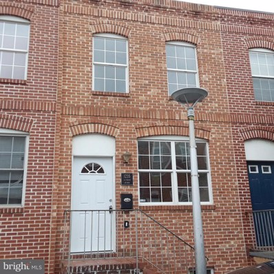 1235 Glyndon Avenue, Baltimore, MD 21223 - #: 1001925310