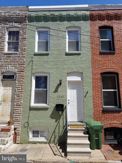 1707 Olive Street, Baltimore, MD 21230 - MLS#: 1001925470
