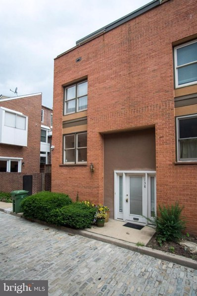 138 Welcome Alley UNIT TH3, Baltimore, MD 21201 - MLS#: 1001927074