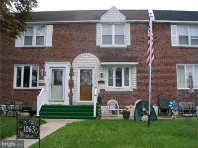 1063 Stratford Road, Glenolden, PA 19036 - MLS#: 1001928082