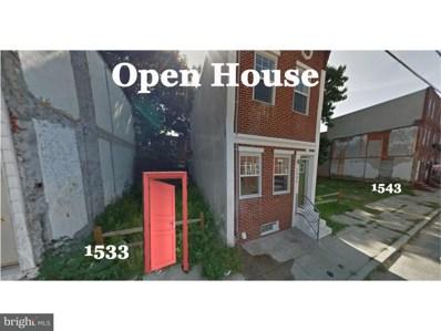 1533 S Lambert Street, Philadelphia, PA 19146 - MLS#: 1001928728