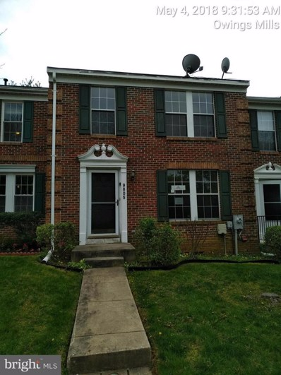 9805 Bale Court, Owings Mills, MD 21117 - #: 1001930420