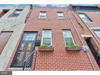 1318 S Opal Street, Philadelphia, PA 19146 - MLS#: 1001932620