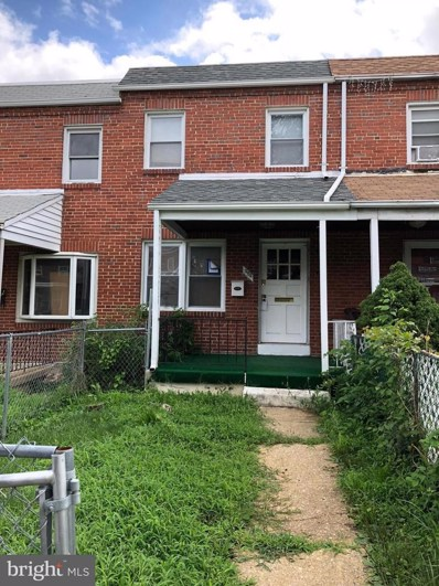 523 Parksley Avenue, Baltimore, MD 21223 - MLS#: 1001963012