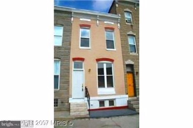 2534 E Fayette Street, Baltimore, MD 21224 - #: 1001964572