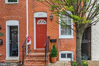234 Castle Street S, Baltimore, MD 21231 - MLS#: 1001965418