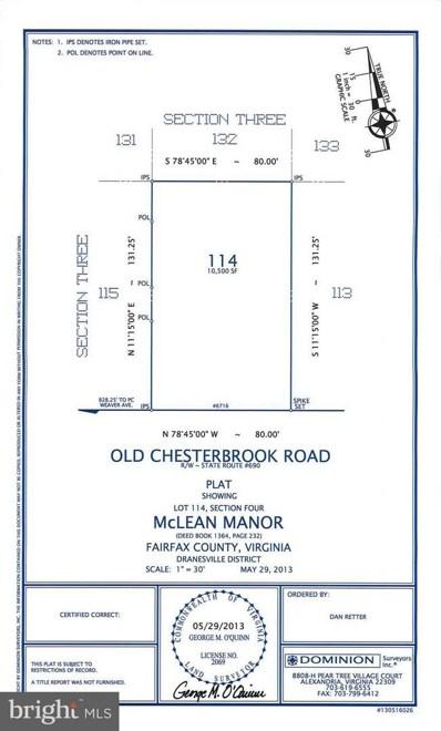 6716 Old Chesterbrook Road, Mclean, VA 22101 - #: 1001969018