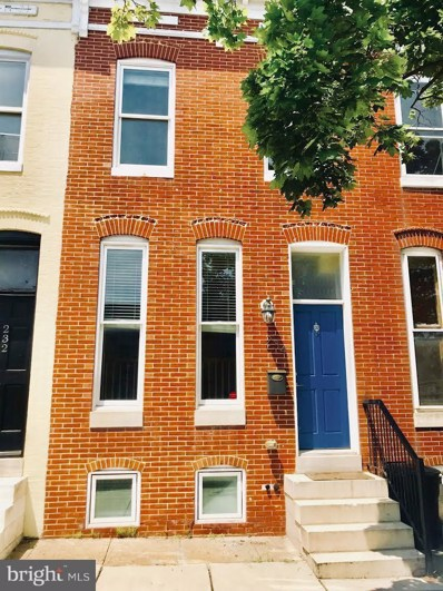 234 N. Patterson Park Avenue N, Baltimore, MD 21231 - MLS#: 1001970842
