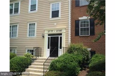 2787 Bordeaux Place UNIT 24D12, Woodbridge, VA 22192 - MLS#: 1001972310