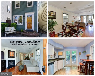 416 Gibbon Street, Alexandria, VA 22314 - MLS#: 1001975194