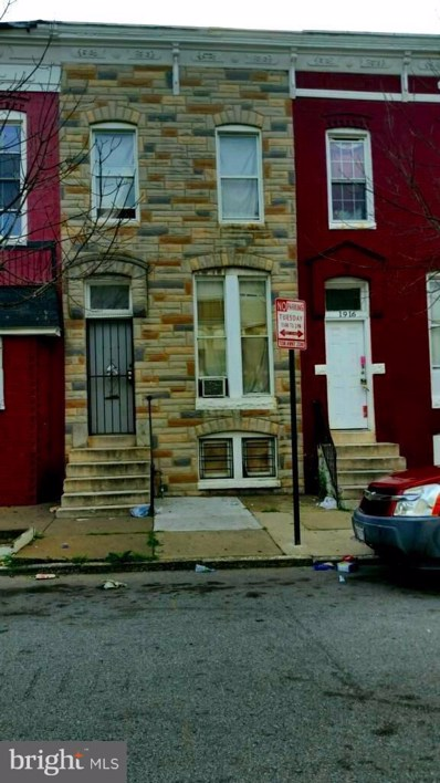 1914 Payson Street, Baltimore, MD 21217 - #: 1001977854