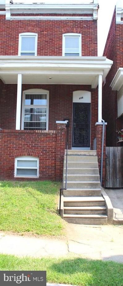 608 E 30TH Street, Baltimore, MD 21218 - MLS#: 1001984244