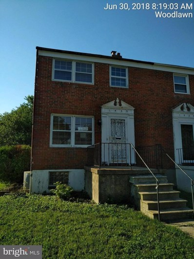 1439 Ingleside Avenue, Baltimore, MD 21207 - MLS#: 1001986804