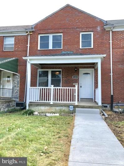 1909 Woodbourne Avenue, Baltimore, MD 21239 - MLS#: 1001988420