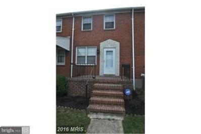 2722 Plainfield Road, Baltimore, MD 21222 - MLS#: 1001996738