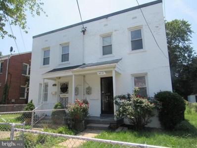 4719 Bass Place SE, Washington, DC 20019 - #: 1001997142