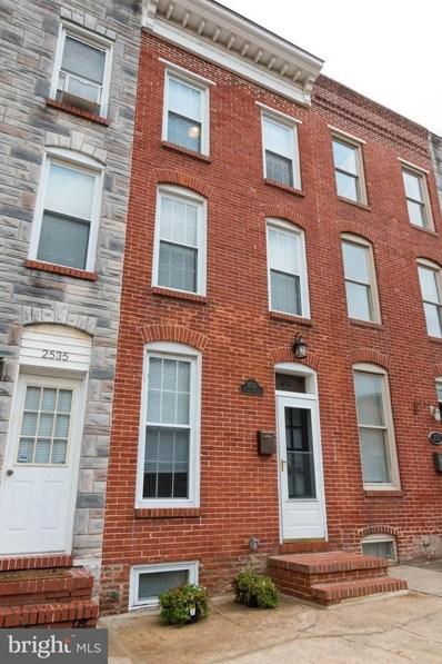2533 Fleet Street, Baltimore, MD 21224 - MLS#: 1002003082