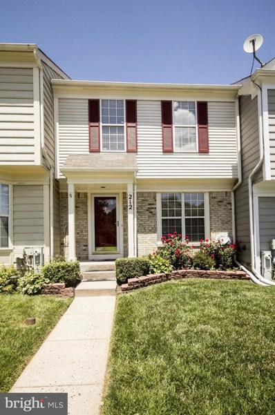 212 Gentlebrook Road, Owings Mills, MD 21117 - MLS#: 1002004324