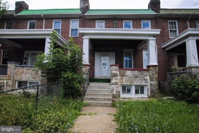 3857 Forest Park Avenue W, Baltimore, MD 21216 - #: 1002006356
