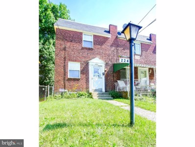 224-A Marks Avenue, Darby, PA 19023 - MLS#: 1002008620