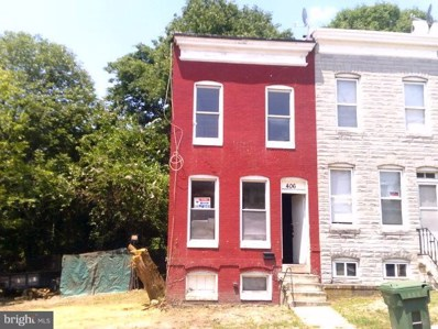 406 Longwood Street S, Baltimore, MD 21223 - MLS#: 1002022258