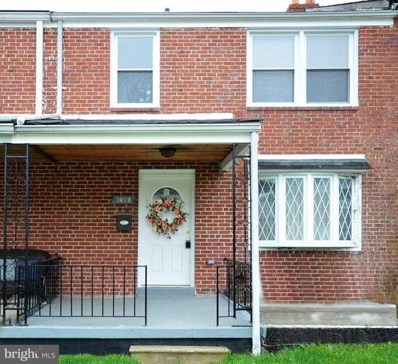 1019 Reverdy Road, Baltimore, MD 21212 - MLS#: 1002031360