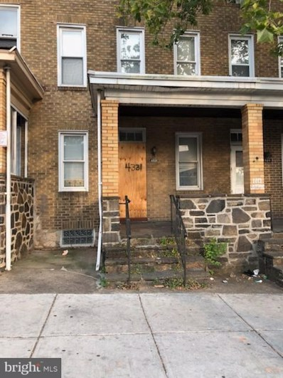 4331 Belair Road, Baltimore, MD 21206 - MLS#: 1002037802