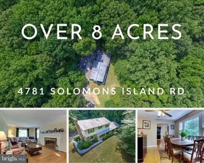 4781 Solomons Island Road, Harwood, MD 20776 - #: 1002038318