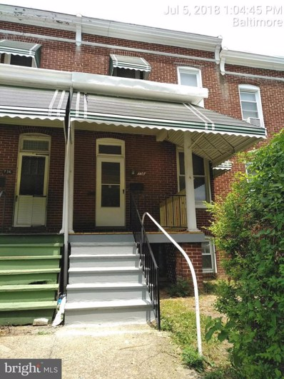 738 36TH Street, Baltimore, MD 21218 - MLS#: 1002038436