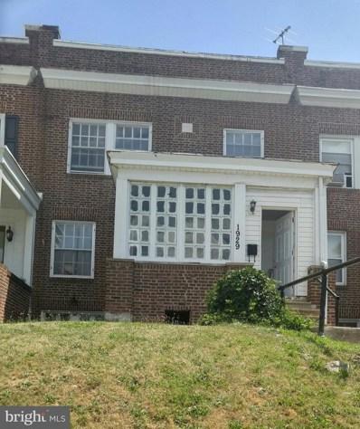 1929 32ND Street, Baltimore, MD 21218 - MLS#: 1002039390