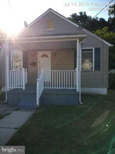 609 Stuart Street, Baltimore, MD 21221 - MLS#: 1002041634