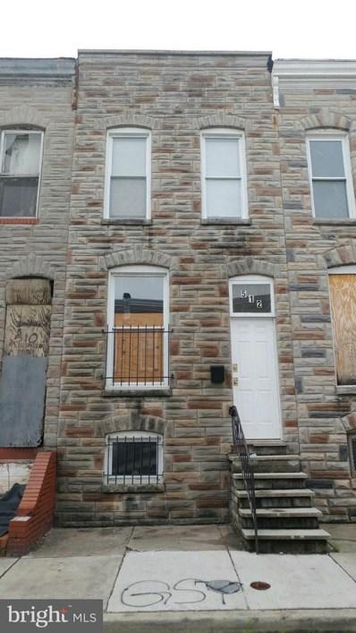 512 Glover Street, Baltimore, MD 21205 - MLS#: 1002041984